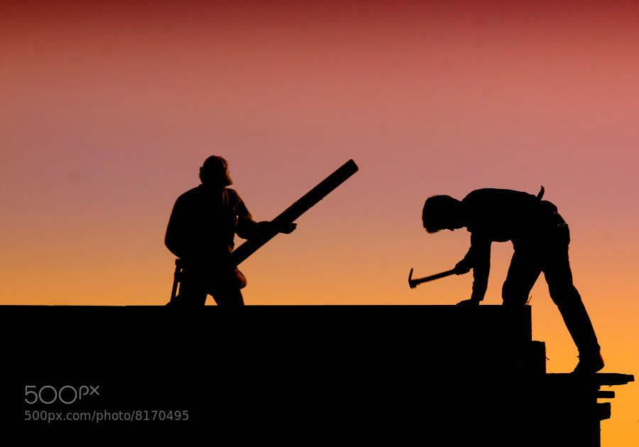 Photograph Construction Workers. by Necdet Yasar on 500px