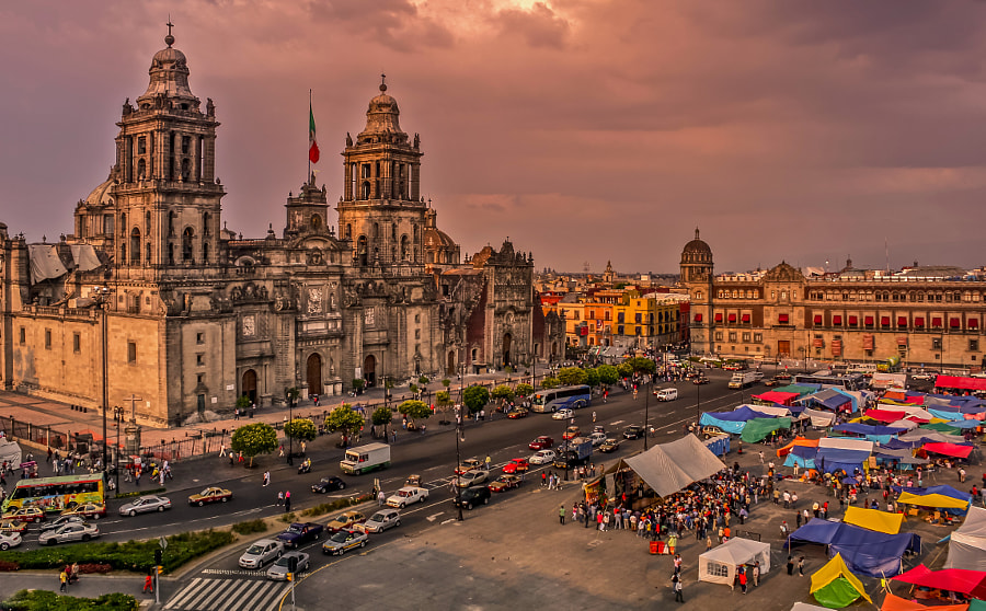 MEXICO CITY, MEXICO by Lubomir Mihalik on 500px.com