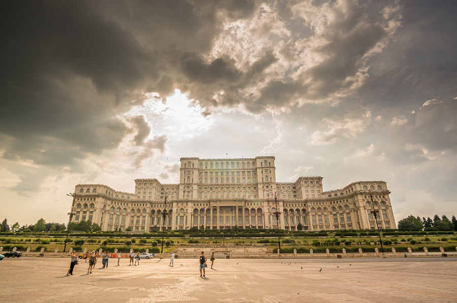 BUCHAREST, ROMANIA - August 08: Palace of Parliament on August, by Mihai Ologeanu on 500px.com