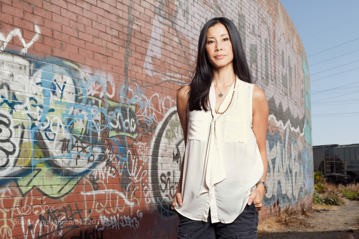 Photograph Lisa Ling by Nathaniel Chadwick on 500px