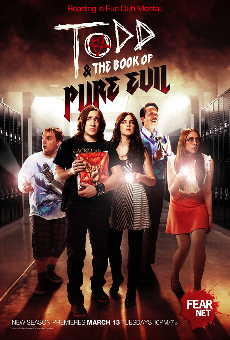 Photograph Todd & the Book of Pure Evil Poster 2 by Nathaniel Chadwick on 500px