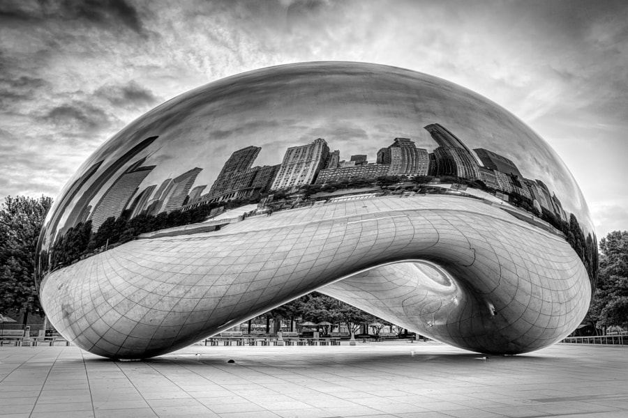 Photograph Cloud Gate Noir by Conway Norwood on 500px
