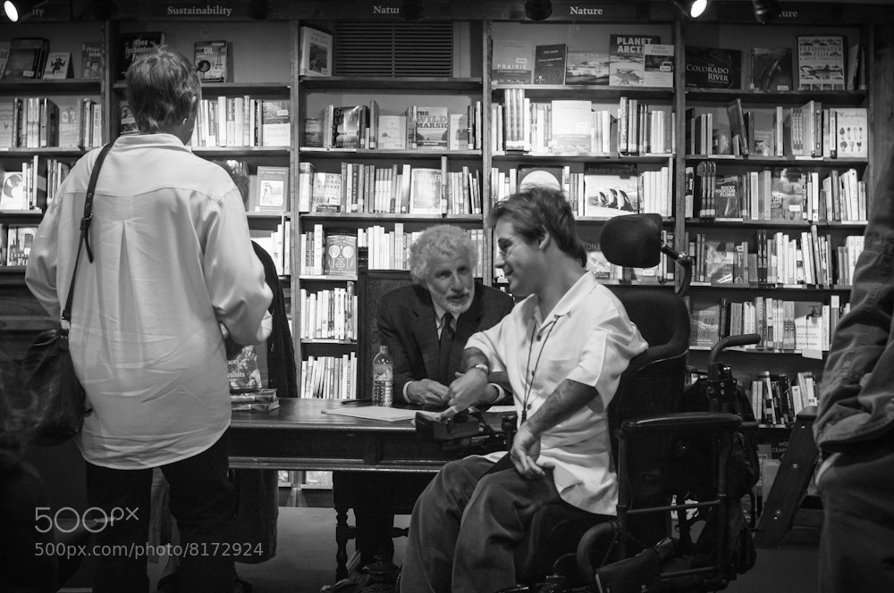 Photograph Dr. Alan Gilbert Book Signing. by Robert Ballard on 500px