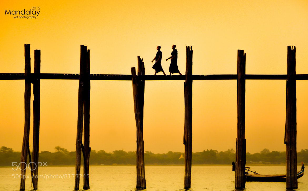 Photograph U Bain bridge (U Pain Bridge) Mandalay by ye aung thu on 500px