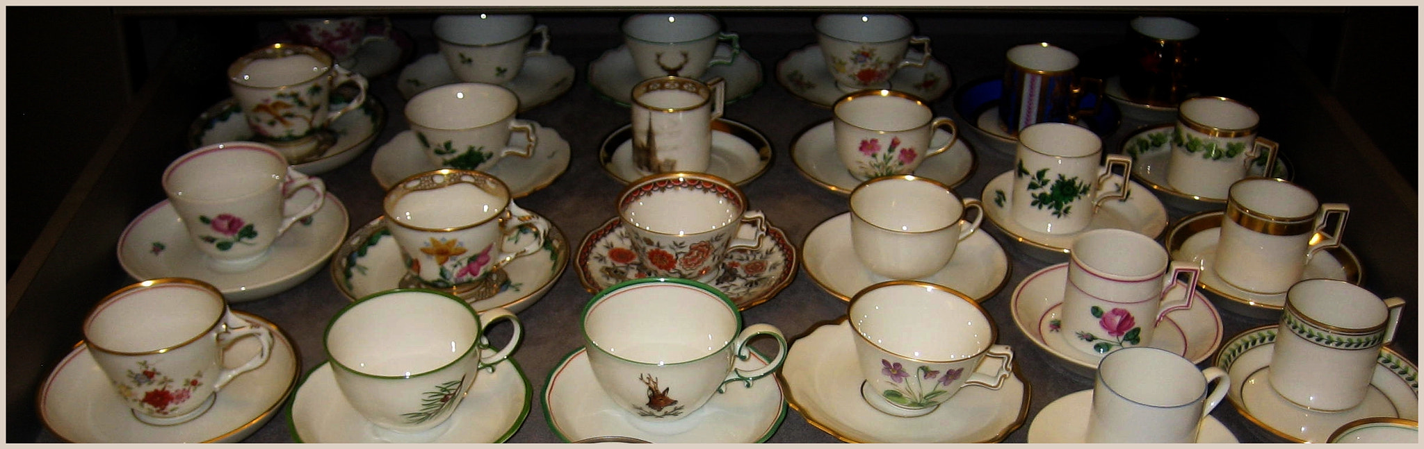 Photograph Viennese Style Coffee Cups by Betty Ditscheid-Zweers on 500px
