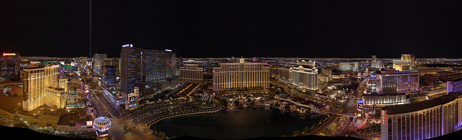 Photograph Vegas Strip by Metro DC Photography on 500px