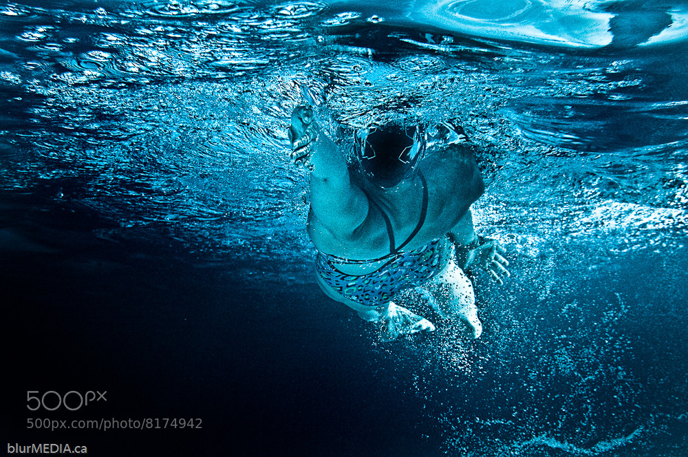Photograph Backstroke - Blue by JP Danko on 500px