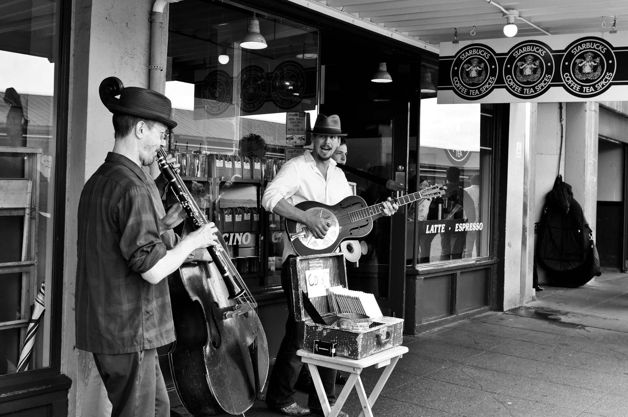 Photograph Pike Place market concert by Jay Yang on 500px