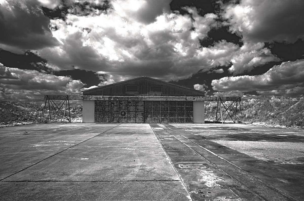 Photograph Hangar Bay - Nike Missile Site - Everglades National Park by Aaron Sheldon on 500px