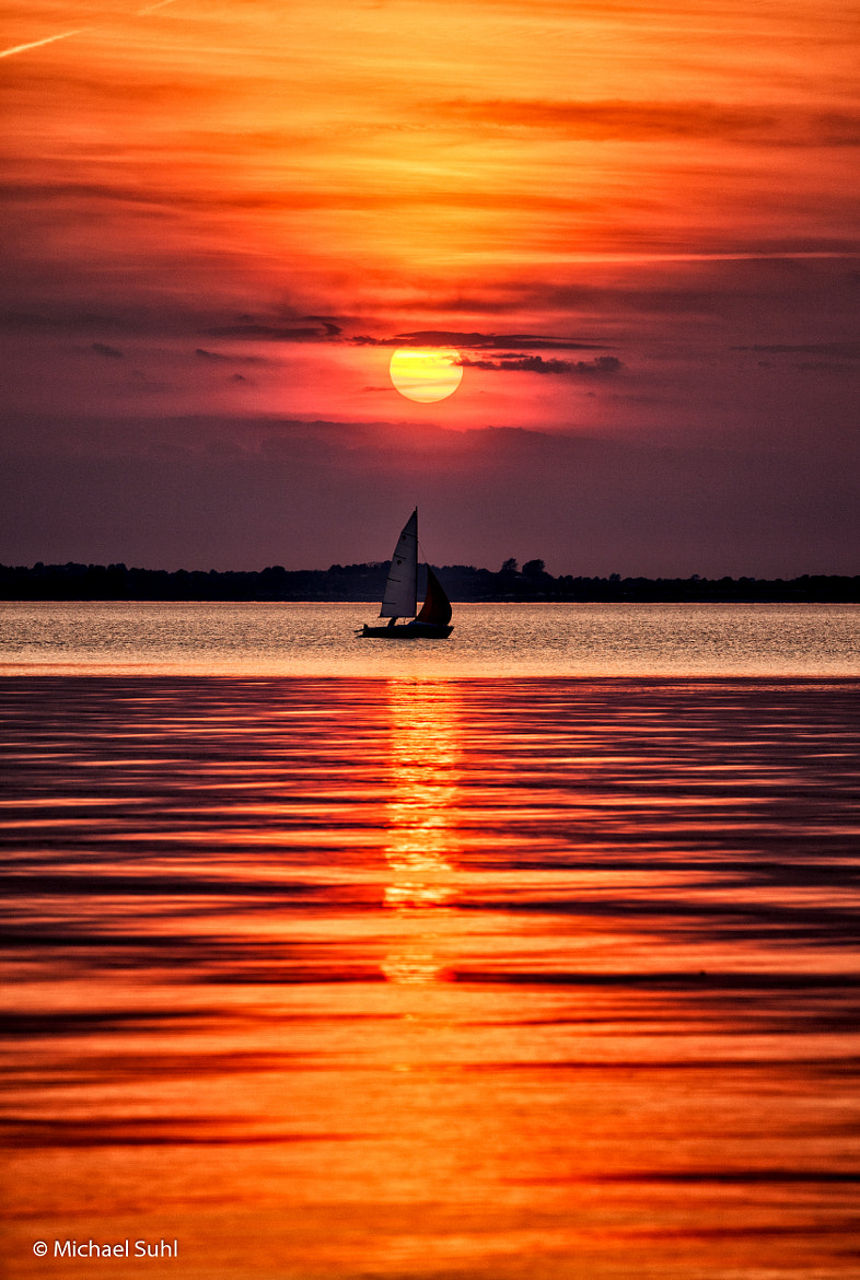 Photograph sun and sailing boat by Michael Suhl on 500px