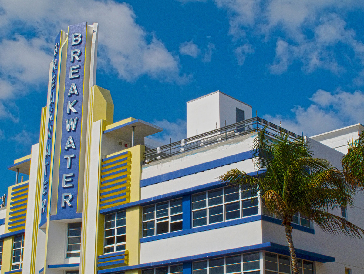 Photograph Breakwater Hotel - Southbeach - HDR by Aaron Sheldon on 500px