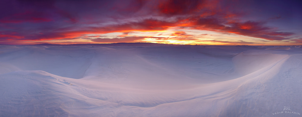 Photograph White Sands Pano by Vadim Balakin on 500px