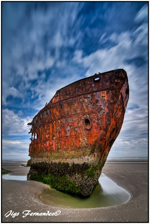 Photograph Baltray Wreck in HDR by Jigs Fernandez on 500px