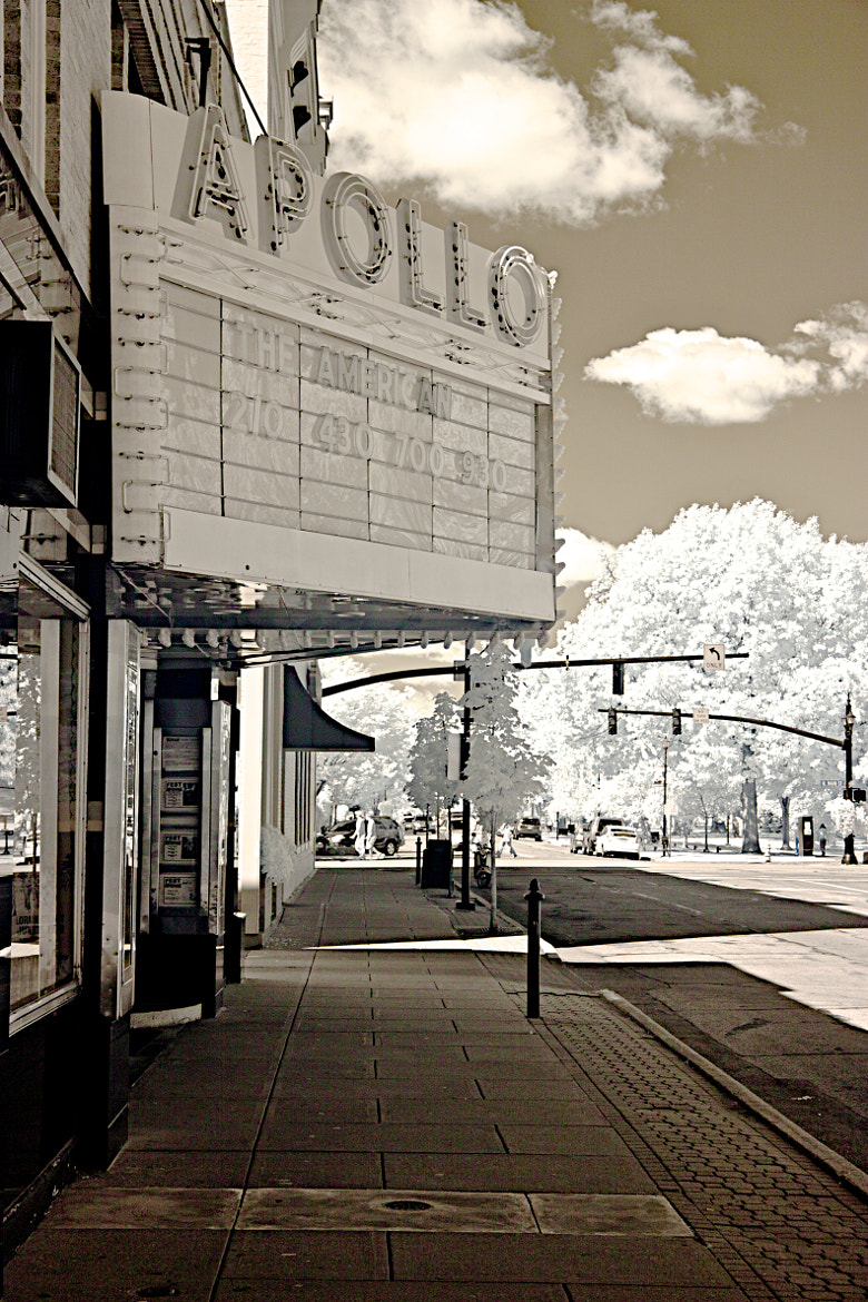 Photograph Apollo Theater - Oberin, Ohio - infrared by Aaron Sheldon on 500px