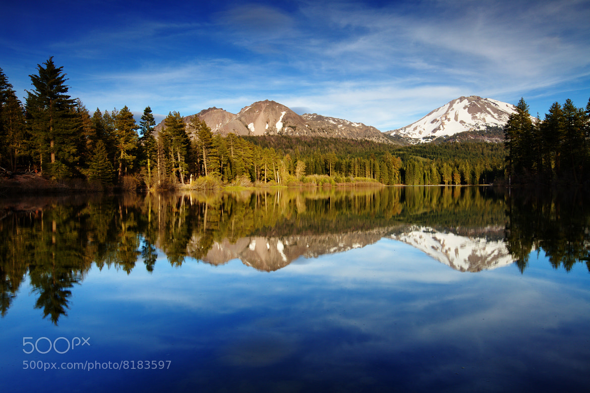 Photograph Lassen Reflection by Jacky CW on 500px