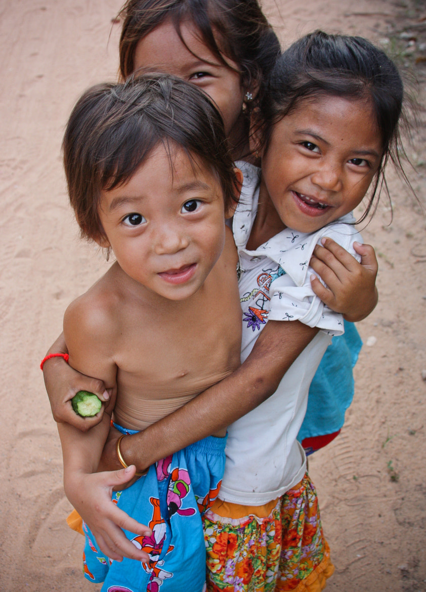 Photograph Children at Siam Reap by Walter Lustig on 500px