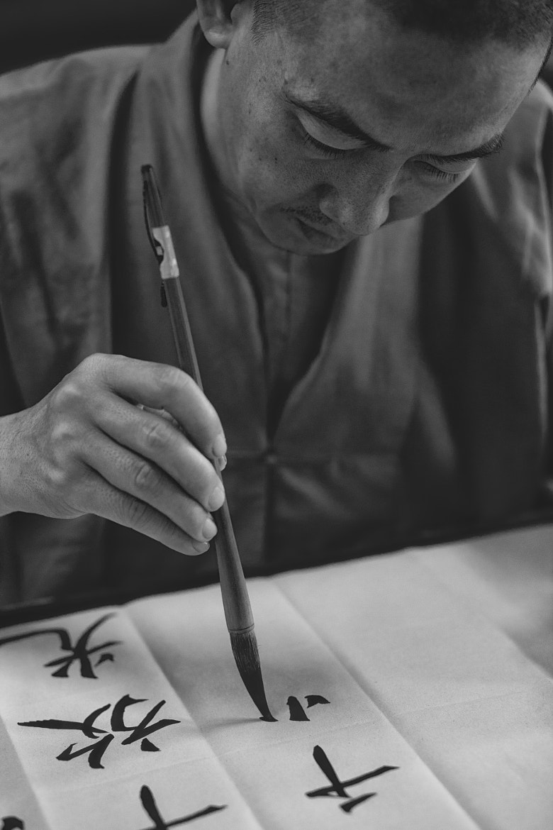 Photograph Calligrapher by Tam Doan on 500px