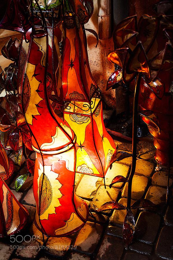Photograph Morocco - Marrakesh: Henna Lamps by Fabrizio Fenoglio on 500px