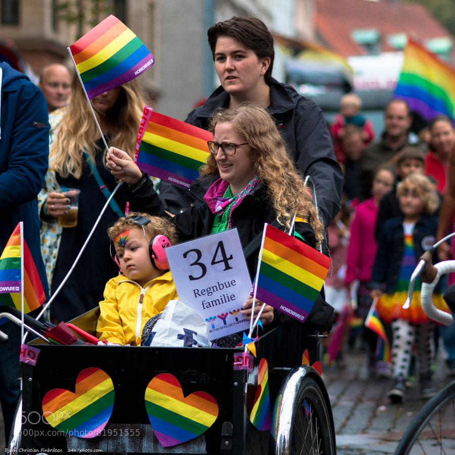 A rainbow family