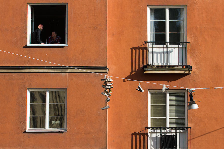 Photograph Windows and shoes by Alexander Dragunov on 500px