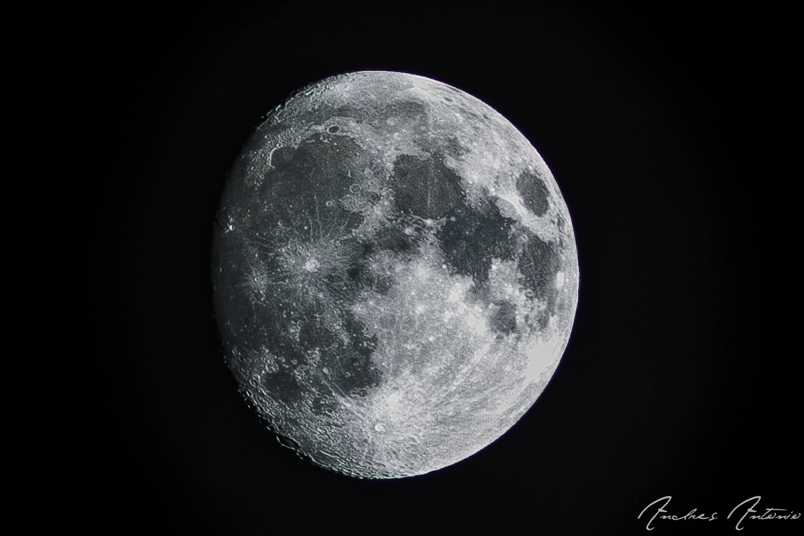 Photograph moon by Andres Antonio on 500px