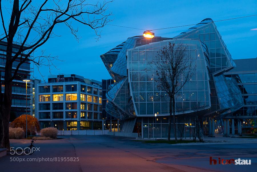 Photograph Campus After Dark by hitzestau on 500px