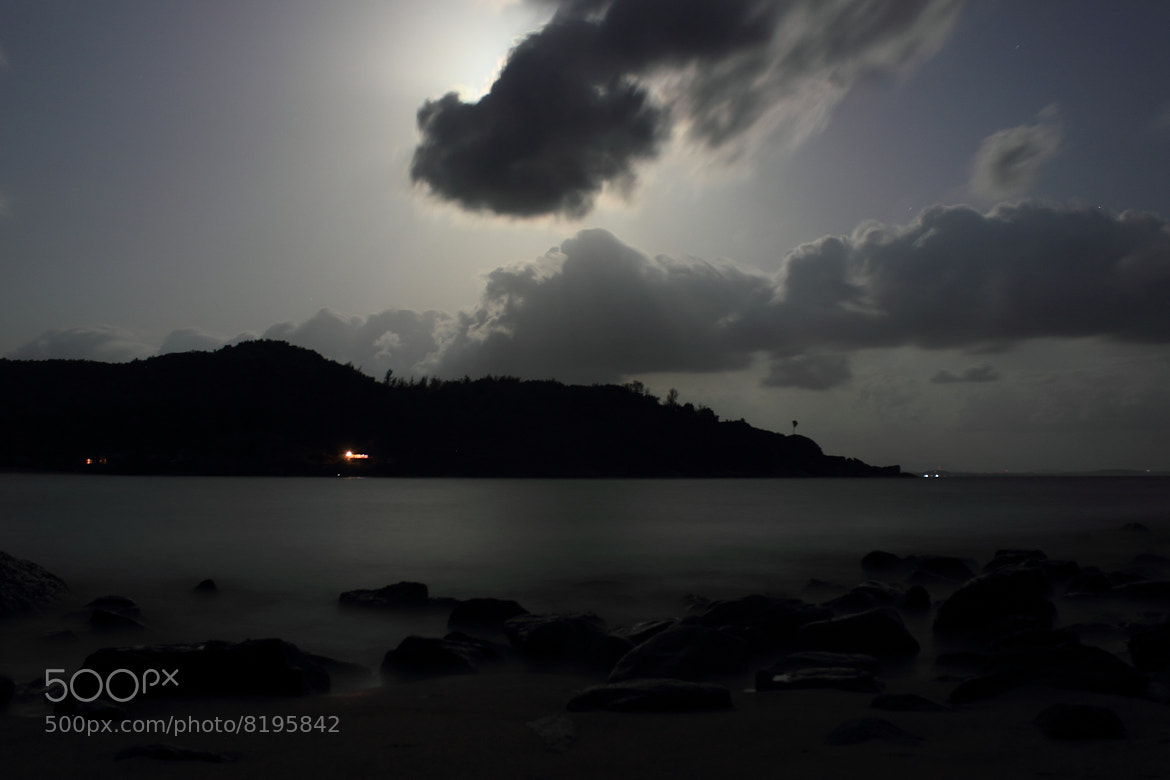 Photograph One night at the beach by Girish Jdm on 500px