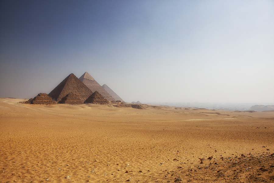 Photograph The Pyramids by Mario Moreno on 500px