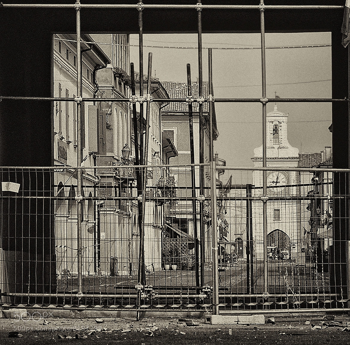 Photograph Earthquake: Crevalcore,  the wounded city, close by Silena  Lambertini on 500px