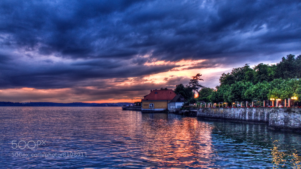 Photograph Meersburg Sunset by Barry Mangham on 500px