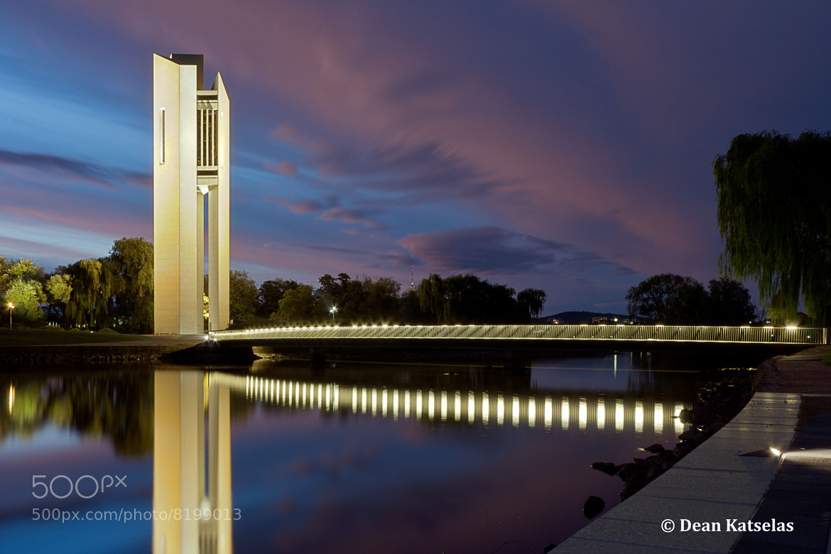 Photograph Tower at Blue Hour by Dean Katselas on 500px