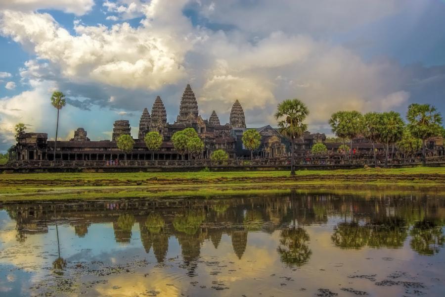 Sunset over Angkor Wat by Kjersti Busk Joergensen on 500px.com