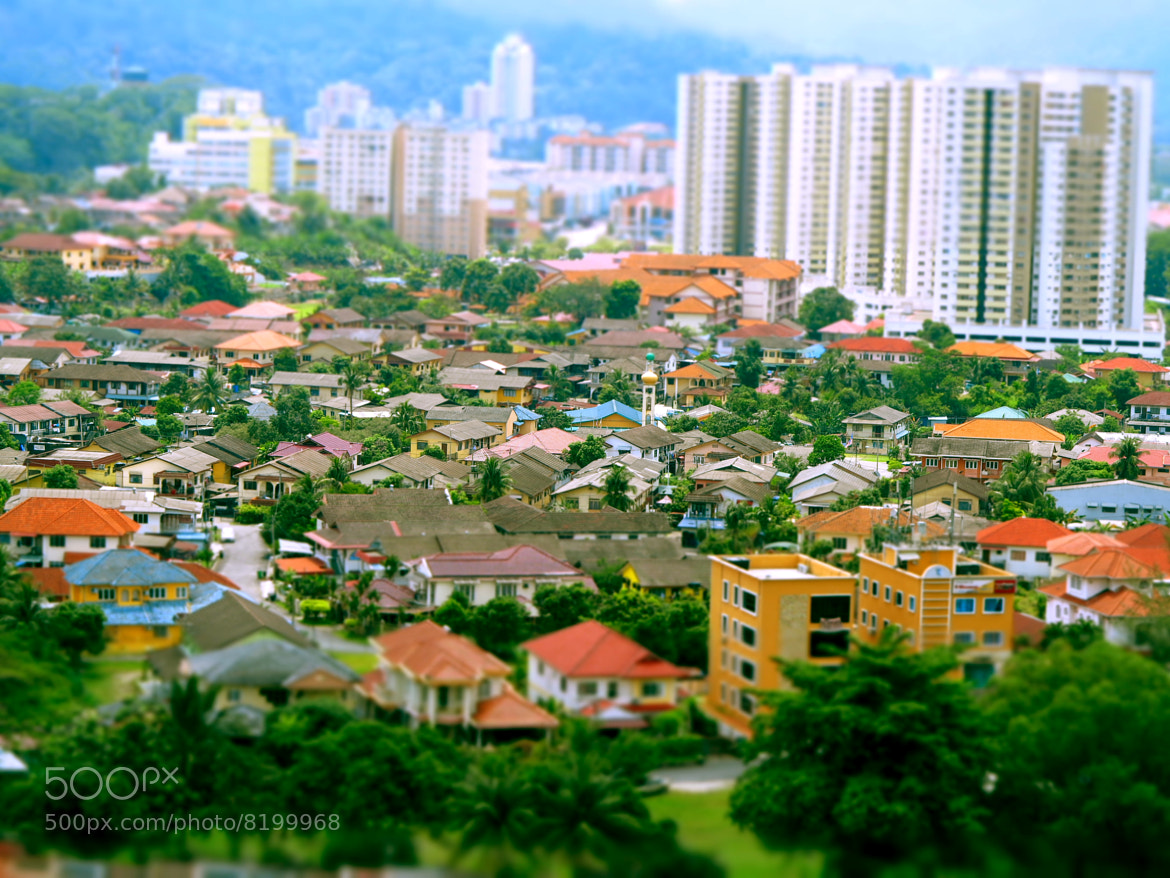 Photograph The City beside the Malaysian Mountains by Emerald Santos on 500px