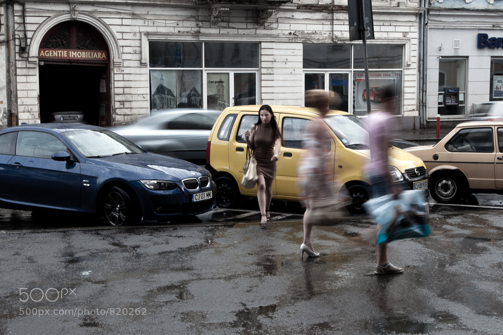 Photograph While taking shelter from the rain by Catalin Budusan on 500px