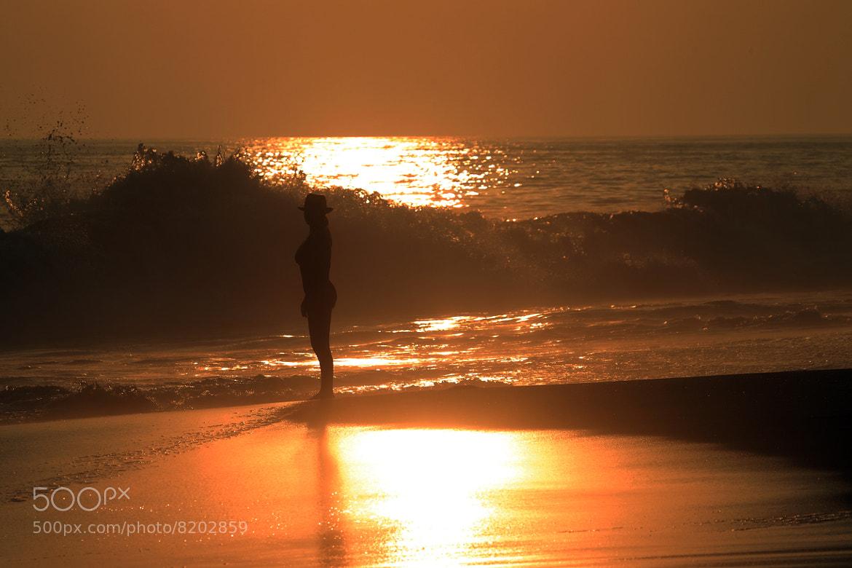 Photograph Maria at shore by Cristobal Garciaferro Rubio on 500px