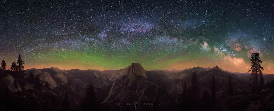 Photograph Valley Of The Cosmos by Michael Shainblum on 500px