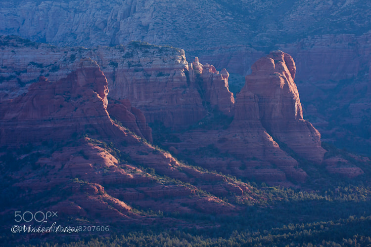 Photograph Red Rock Sunrise by Michael Litwin on 500px