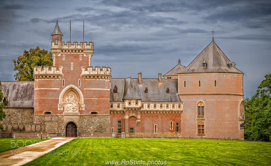Photograph Gaasbeek Castle, Lennik, Belgium (iii) by Andrei Robu - RoSonic.photos on 500px