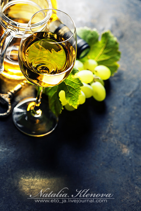 Photograph Glass of white wine by Natalia Klenova on 500px