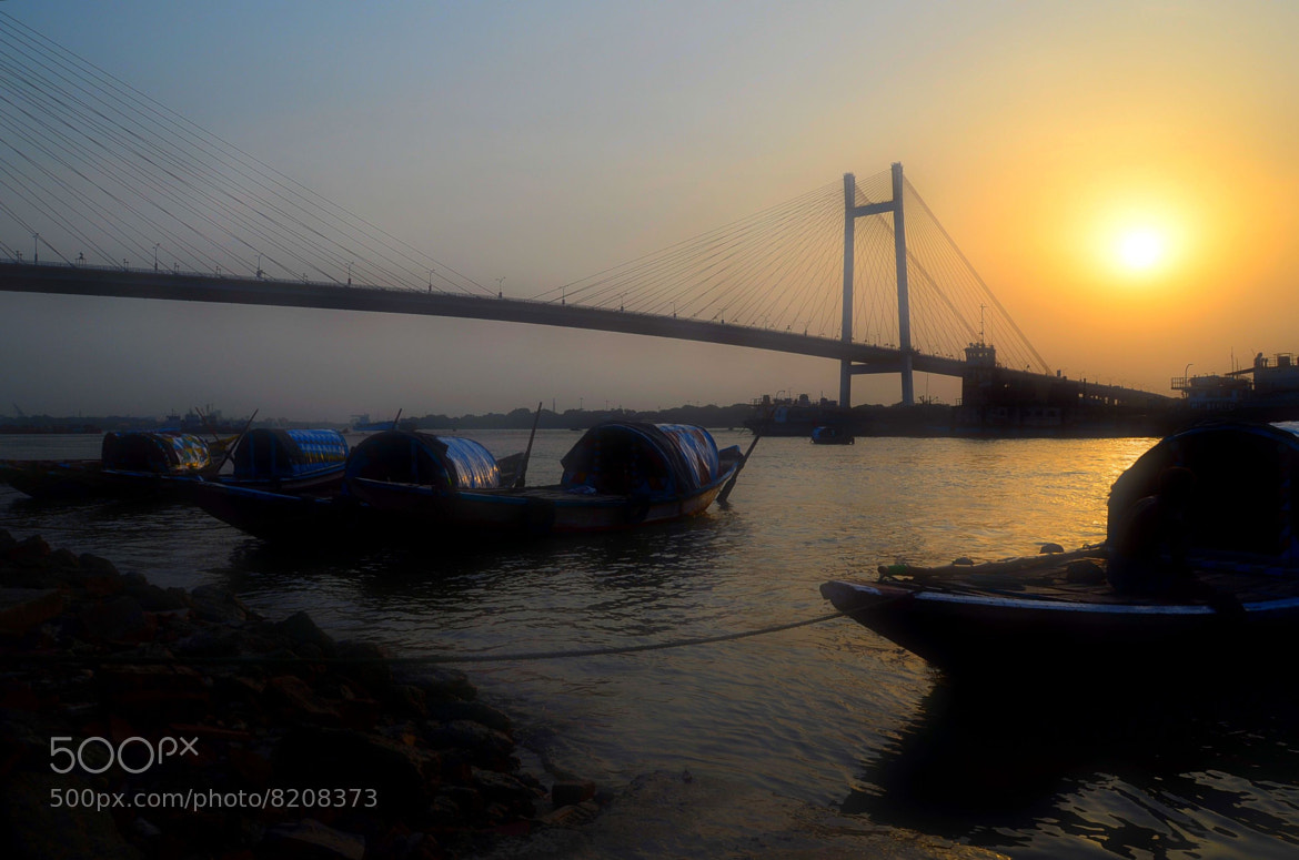 Photograph Sunset On The Ganges... by Palash K on 500px