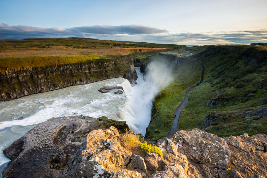 Photograph Gullfoss Viewpoint by Carlo Murenu on 500px