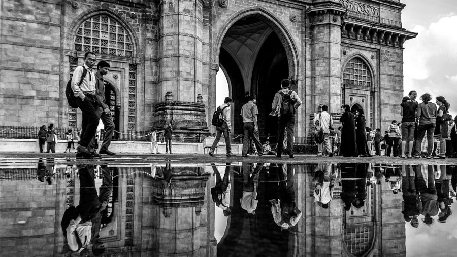 Photograph Puddling the gateway by Husain Ujjainwala on 500px