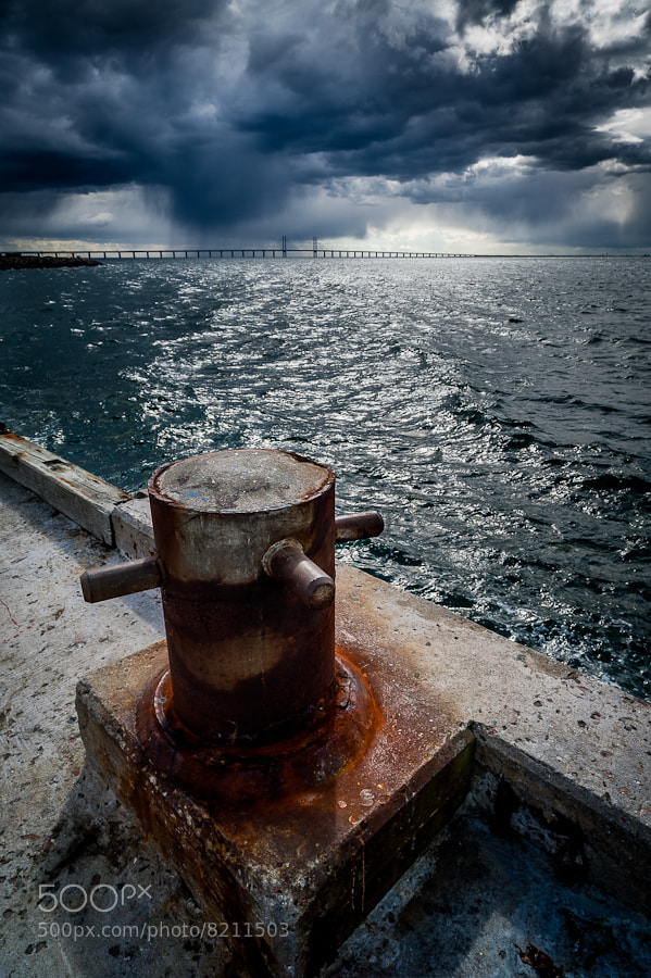 Photograph Storm clouds over Öresund Bridge by Magnus Larsson on 500px
