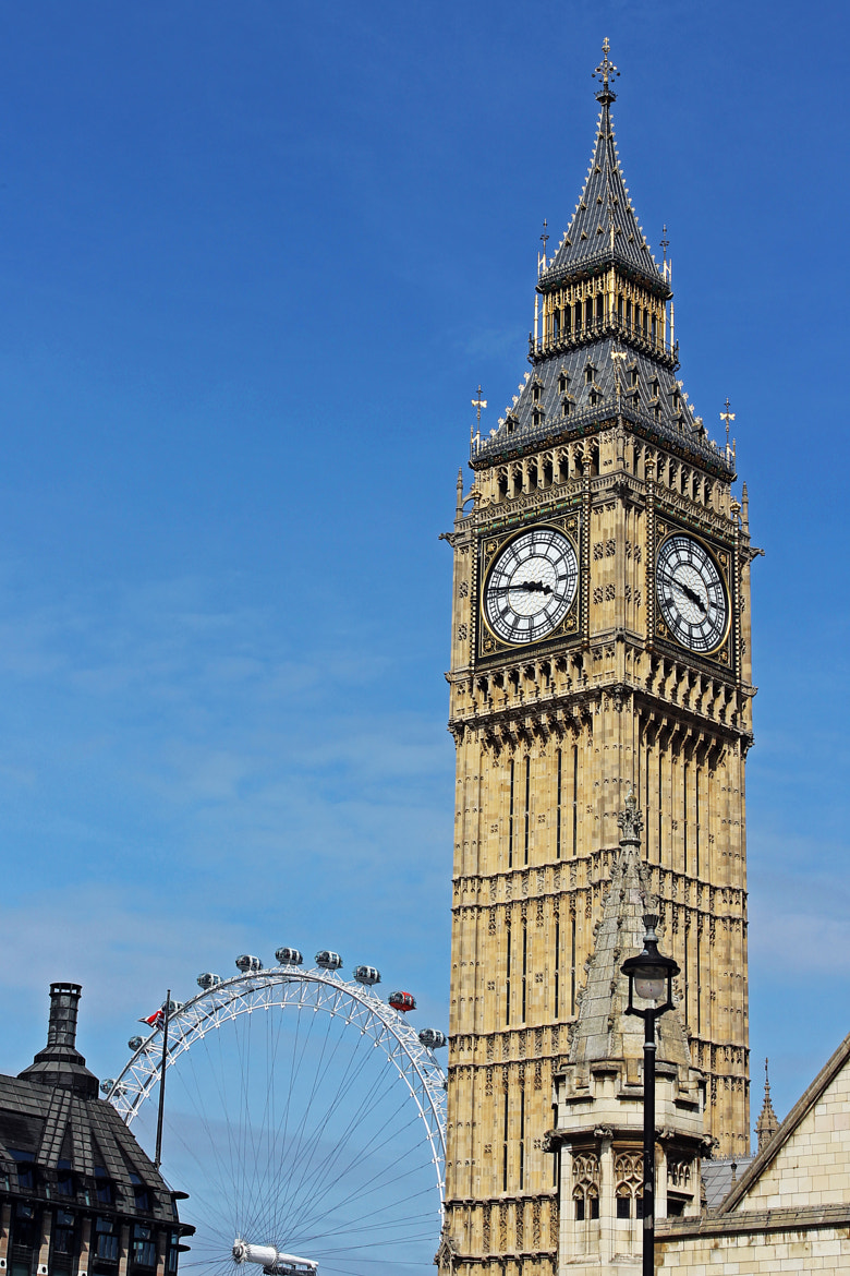 Photograph Big Ben and London Eye by Tony Murtagh on 500px