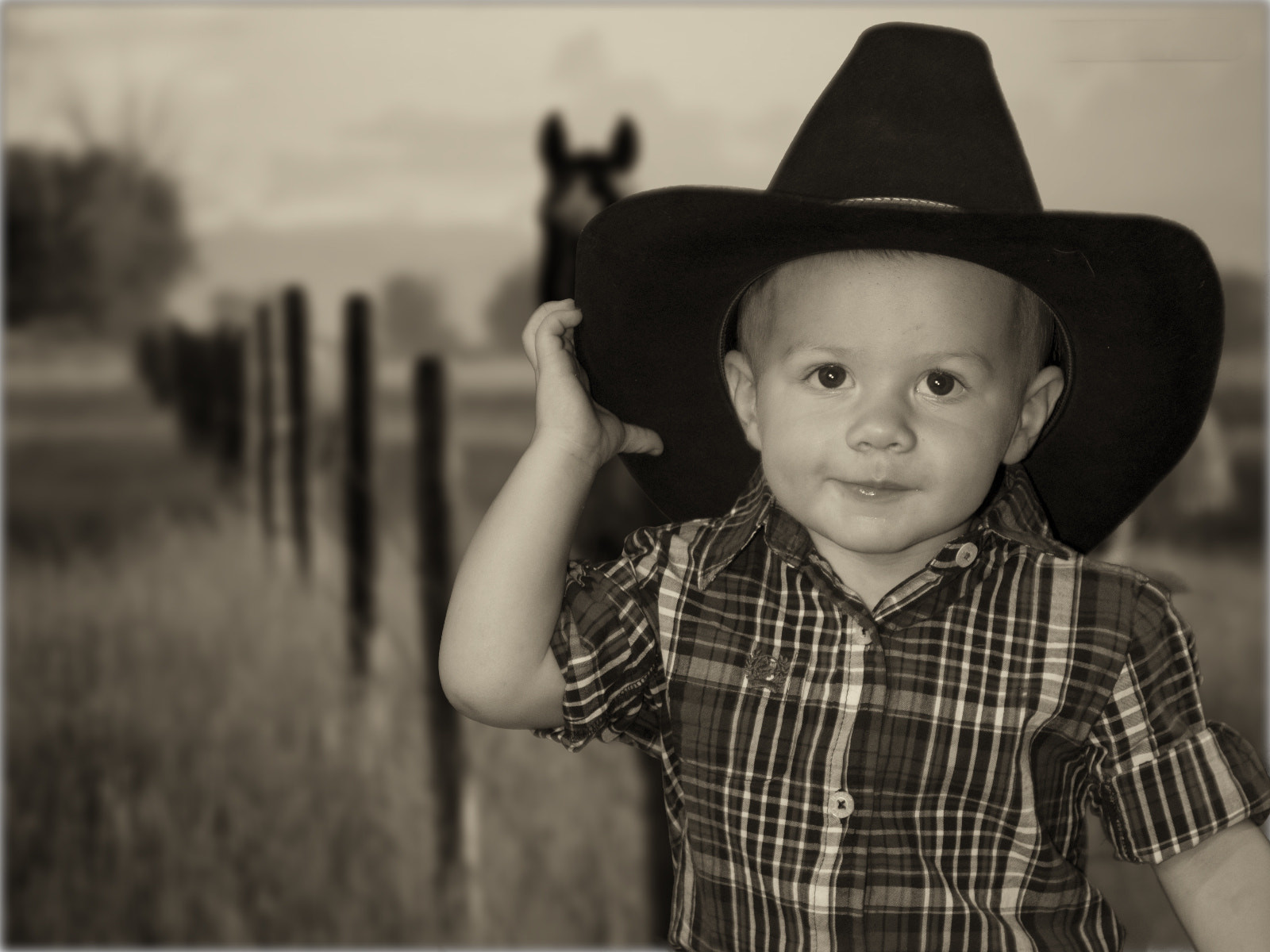 Photograph Little CowBoy 2 by Michel Lamy on 500px