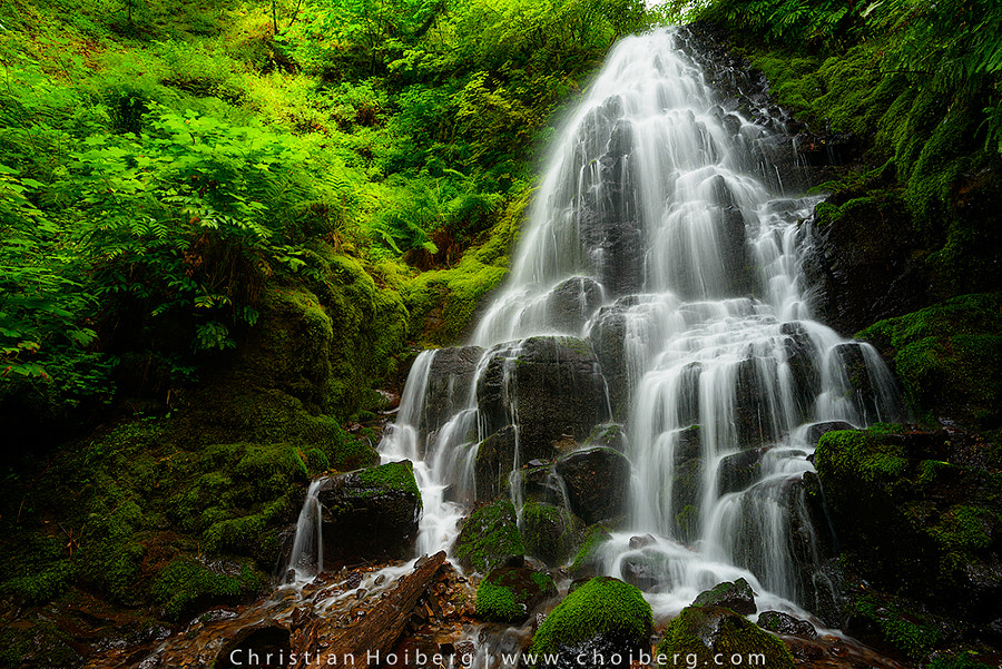 Photograph Fairy Falls by Christian Hoiberg on 500px