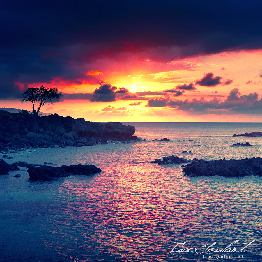 Photograph Sunset in Hawaii by Isac Goulart on 500px