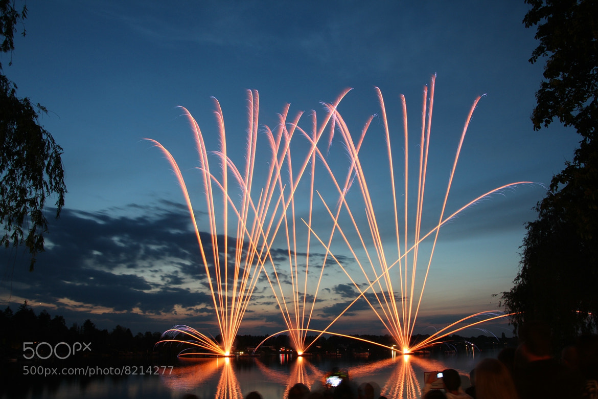Photograph Feuerwerk II by Georg Ivan on 500px