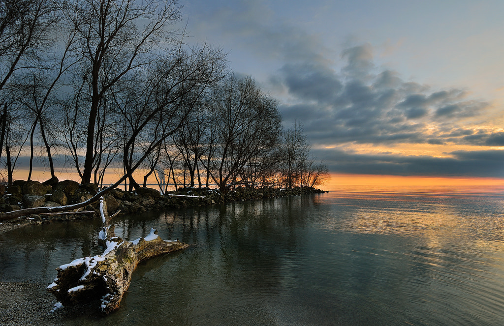 Photograph Orange Glow on a Winter's Morning by Sheldon Spurrell on 500px