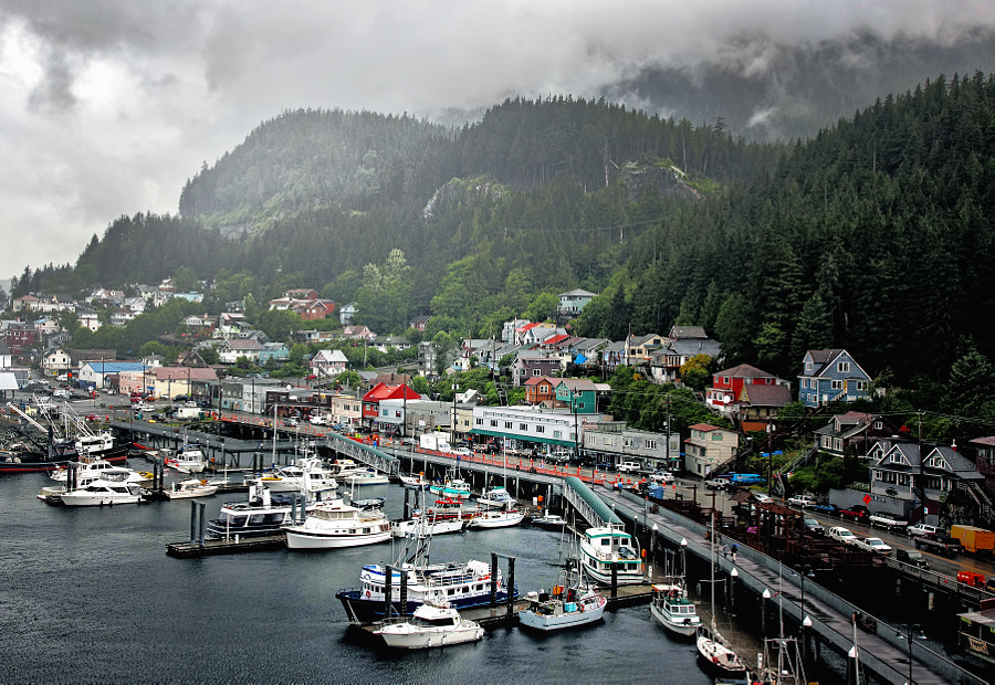 Juneau, after rain by Edwin Leung on 500px.com
